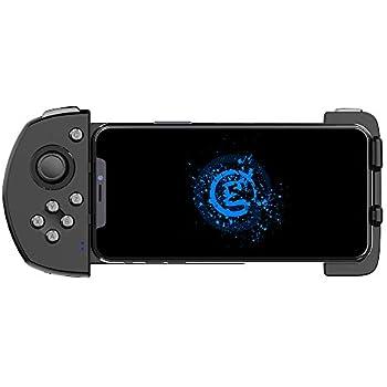 GameSir G6 Bluetooth ゲームパッド PUBGモバイル/フォートナイト/Identity V/CODモバイル/ライフアフター IOS対応 iPHONEコントローラー AppStore公式ゲーム対応【国内正規品/一年間保証/日本語説明書/日本語版アプリ】