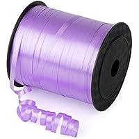 風船リボン Zubita バルーン用 ラッピング装飾 パーティー 紫 5ミリメートル