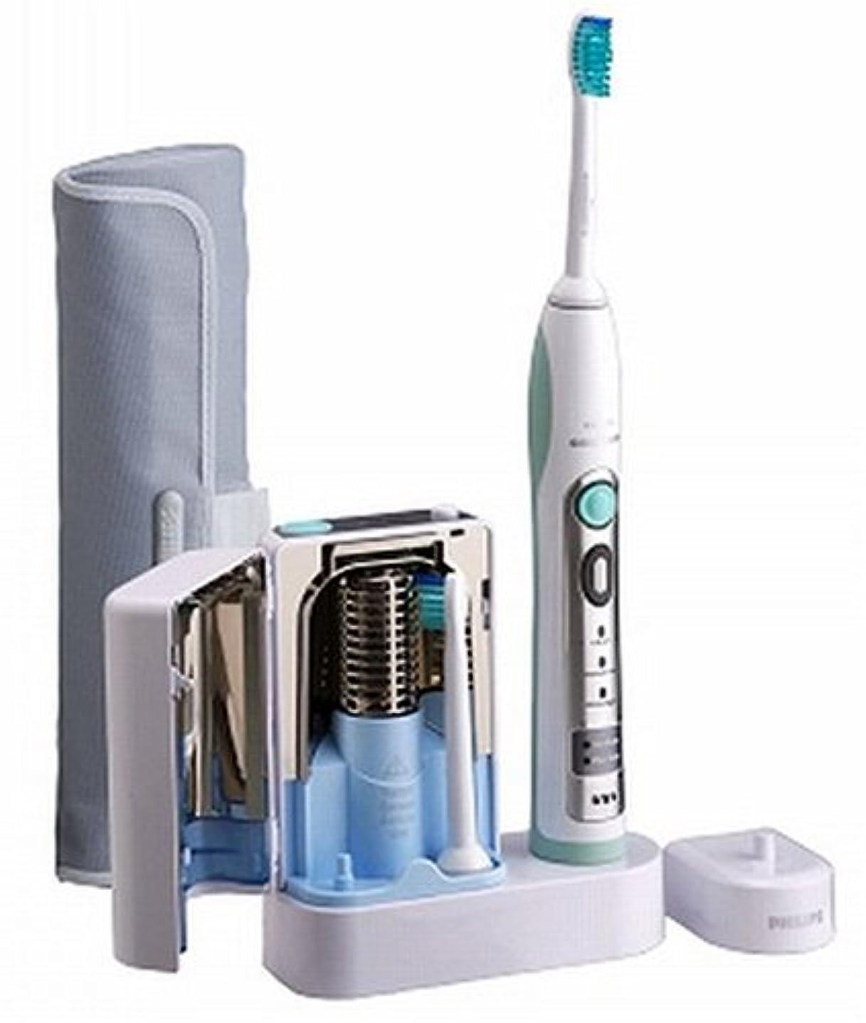 憂鬱なにぎやか右PHILIPS sonicare フレックスケアー 除菌器付き 電動歯ブラシ HX6912/10
