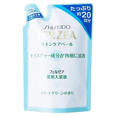 フェルゼア 薬用スキンケア入浴液 スイートグリーンの香り 詰替 500ml