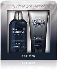 Baylis & Harding Men's Sport Citrus Lime & Mint 2 Piece Set, 0.7