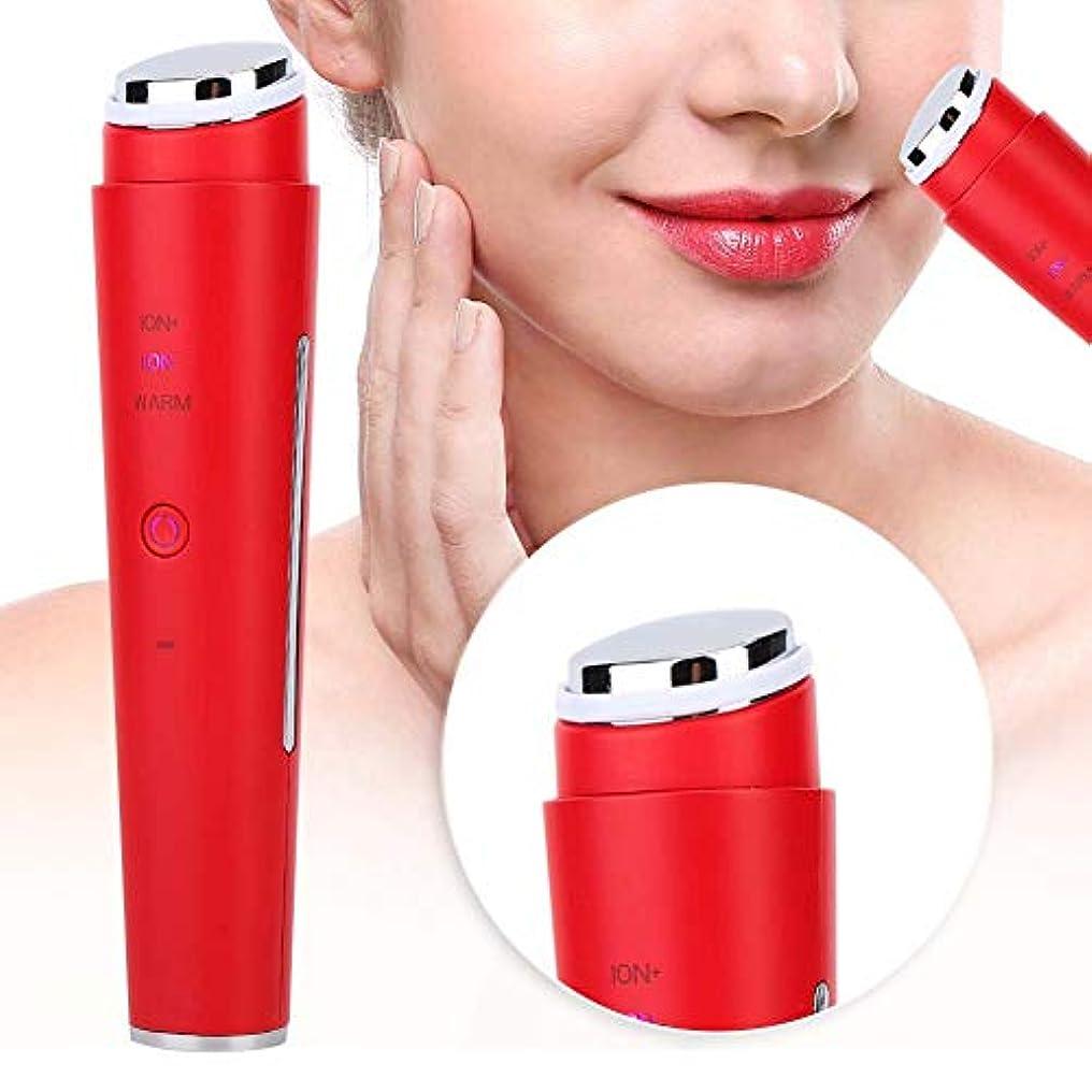 飽和する銀行純粋に多機能毛穴クレンジング美容ツール(赤)
