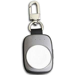 x-tag キーホルダー型 Apple Watch 充電 モバイルバッテリー 700mAh アップルウォッチ用充電器 エックスタグ グレー