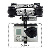 Jarshvila DJI Phantom RC Drone カメラ防振カメラジンバルマウントカーボン For GoPro Hero