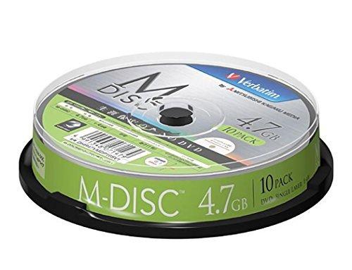 三菱ケミカルメディア 長期保存用メディア M-DISK DVD-R スピンドル 1パック(10枚)