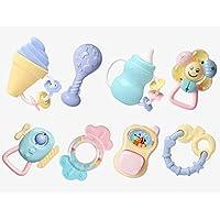 ラトル赤ちゃん幼児新生児の最初のセットのおもちゃ、赤ちゃんのラトルTeetherのおもちゃセット ( Color : A )