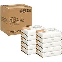【Amazon.co.jp限定】家中すっきりおそうじシート 微香料 200枚(20枚x10個)