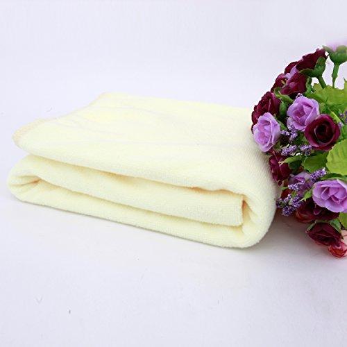 lucrubun 贅沢バスタオル ふんわりやわらか 大判バスタオル カラフル 10枚セット 70cm×140cmサイズ 毎日使うものだからいいものを 赤ちゃんの柔肌にもぴったり♪