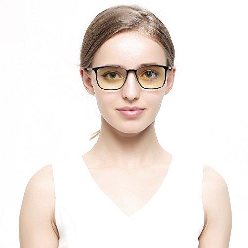 PC用 パソコン用 90%ブルーライトカット メガネ おしゃれ 度なし 超軽量 メンズ レディース 眼精疲労低減?