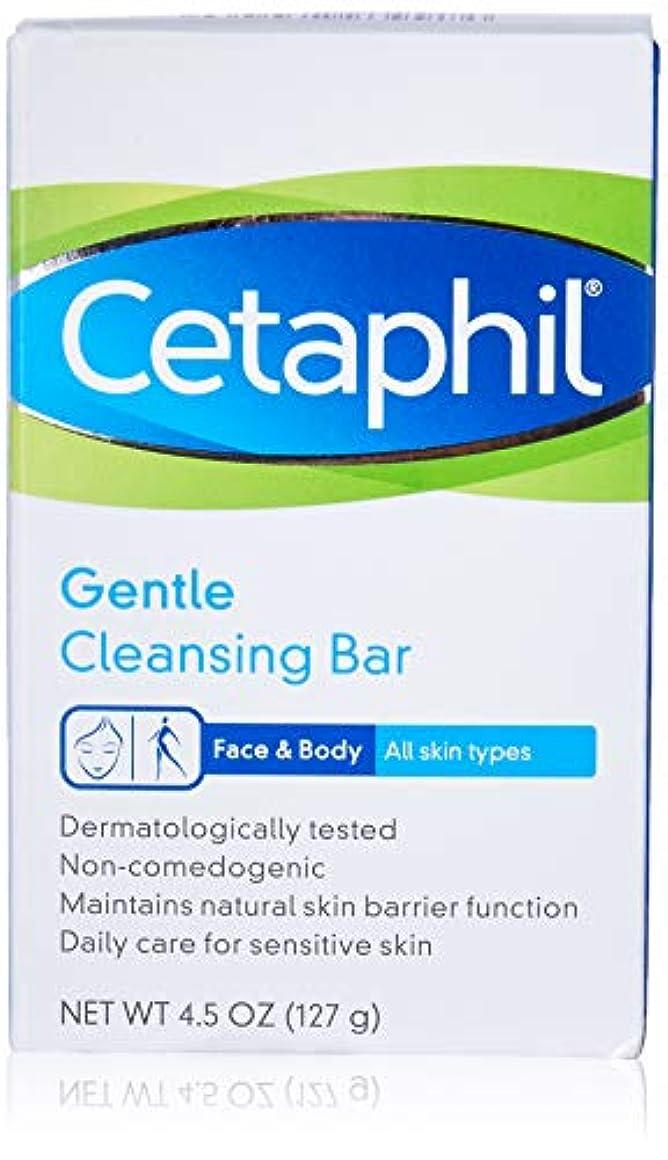 トピック哀お酒Cetaphil ジェントルクレンジングバー、低刺激性、4.5オンス