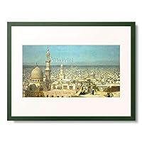 ジャン=レオン・ジェローム Gerome, Jean-Leon 「View of Cairo.」 額装アート作品