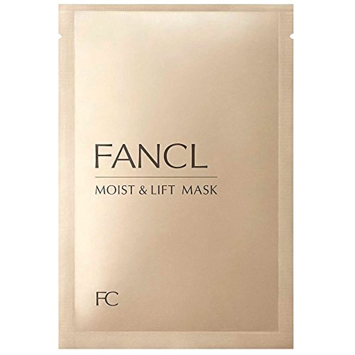 減少ピニオンカバーファンケル (FANCL) モイスト&リフトマスク M&L マスク 6枚セット (28mL×6)