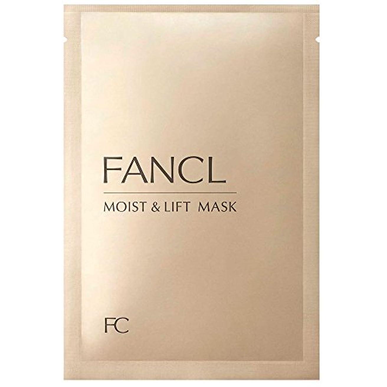 石油文明化する抜け目がないファンケル (FANCL) モイスト&リフトマスク M&L マスク 6枚セット (28mL×6)