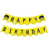 ハリーポッターパーティーSupplies – Happy誕生日バナーフェルトガーランドパーティー装飾