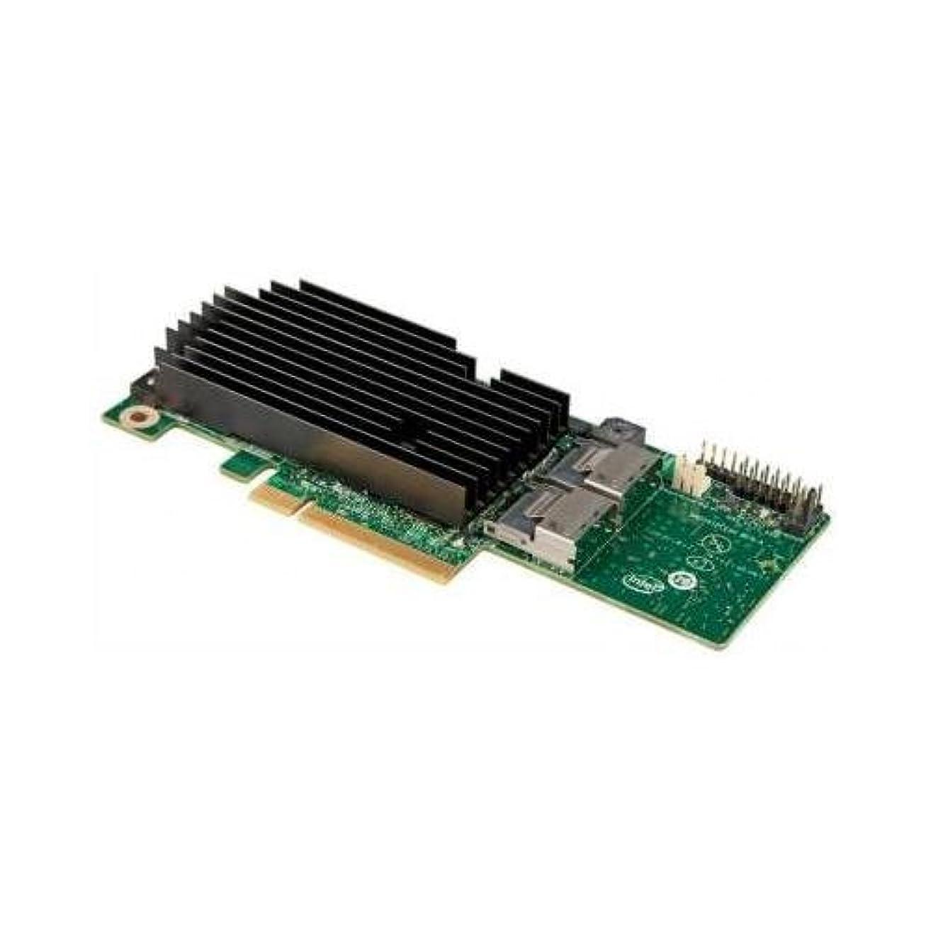 カタログタワープレミアインテルrms25kb080 SAS 8ポート内蔵Raidモジュールコントローラカードブラウンボックスホワイトボックス
