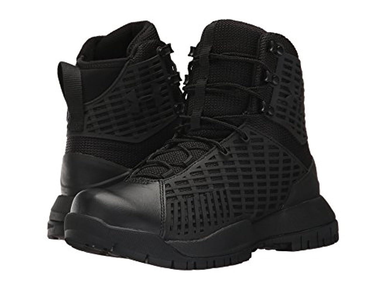 直面する肌スリチンモイ(アンダーアーマー) UNDER ARMOUR レディースブーツ?靴 UA Stryker Black/Black/Black 8.5 (25.5cm) B - Medium