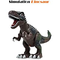 Dinosaur Toys – coerni Large Walking Roar Dinosaur with lights & sounds , Real Movement 18.5'' X 10'' x 4.33'' ブラック OH-4H4H