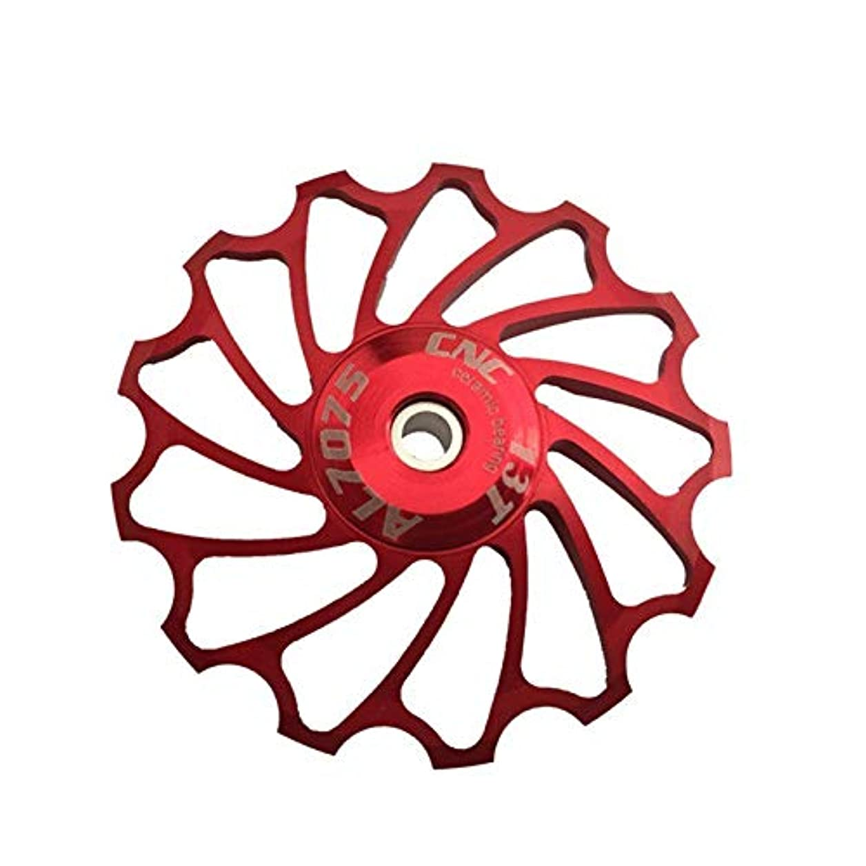 デッドロックコスチューム形状Propenary - Cycling bike ceramics Jockey Wheel Rear Derailleur Pulley 13T 7075 Aluminum alloy bicycle guide pulley...