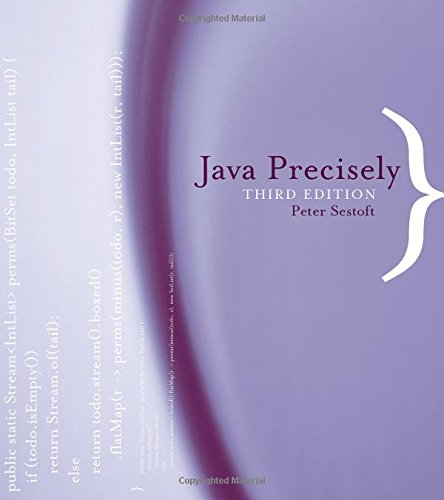 Download Java Precisely (The MIT Press) 0262529076