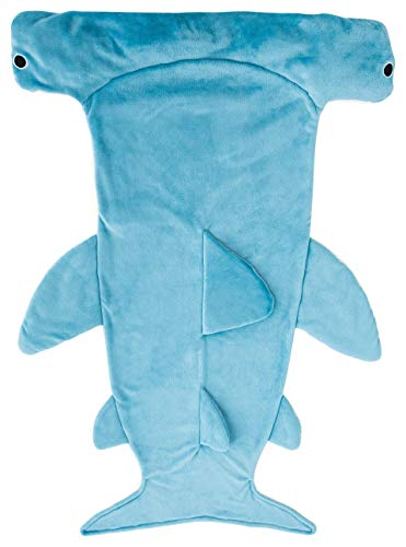 丸眞 着る毛布 シュモクザメ H145×100cm 大人用 寝袋 穿く毛布 0295066300