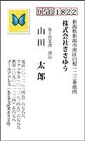 オリジナル名刺印刷 『ユニーク・アイディア名刺 U_003_m』 名刺片面100枚入ケース付 「校正は何度でもOK!ユーモアとジョークで個性をアピール!ちょっと変わったオモシロ名刺」
