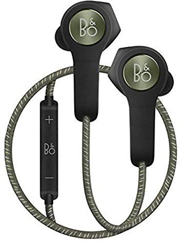 Bang & Olufsen ワイヤレスイヤホン Beoplay H5 Bluetooth / AAC対応 防塵 / 防滴 仕様 リモコン操作 Siri / 通話可能 2016年秋冬コレクション モスグリーン(Moss green) 高級オーディオブランド 【国内正規品/保証期間2年】