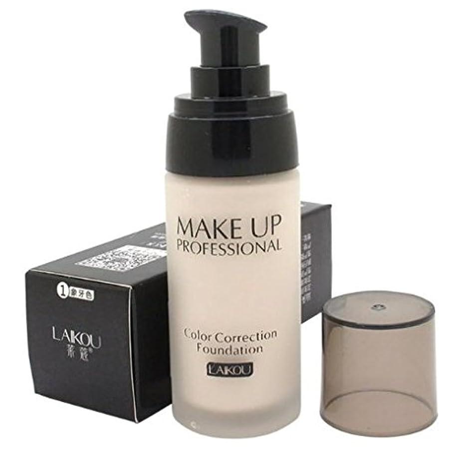 負許容期待40 ml Whitening Liquid Foundation Concealer Moisturizer Oil-control Waterproof Makeup NO.1