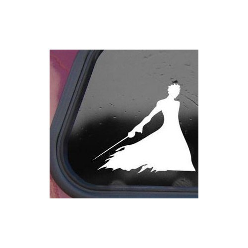 Bleach Ban Kaiアニメホワイト色アート粘着ビニール装飾用ヘルメットMacbook装飾バイクビニール壁アートノートパソコンホームDecor Die Cutウィンドウ車ノートブックステッカーデカール