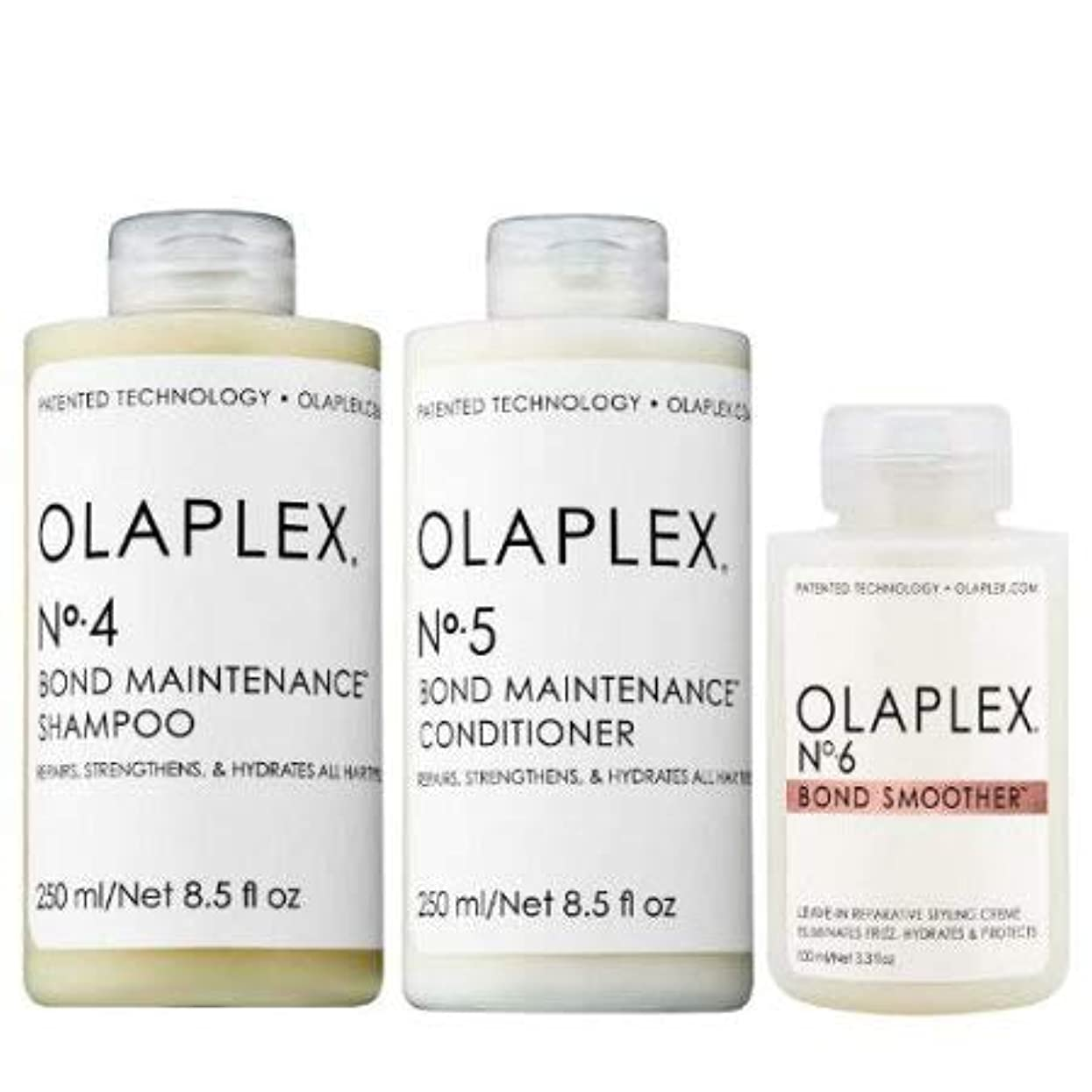 鼻乳製品試用オラプレックス No.4 5 6 ボンド メンテナンス シャンプー&コンディショナー&リーブイン トリートメント【並行輸入品】
