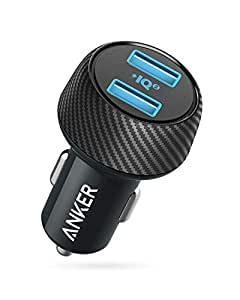 Anker PowerDrive Speed 2 with PowerIQ 2.0(30W 2ポート カーチャージャー)【PowerIQ 2.0】iPhone / iPad / Galaxy / Xperia その他Android各種対応