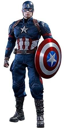 ムービー・マスターピース シビル・ウォー/キャプテン・アメリカ キャプテン・アメリカ 1/6スケール プラスチック製 塗装済み可動フィギュア