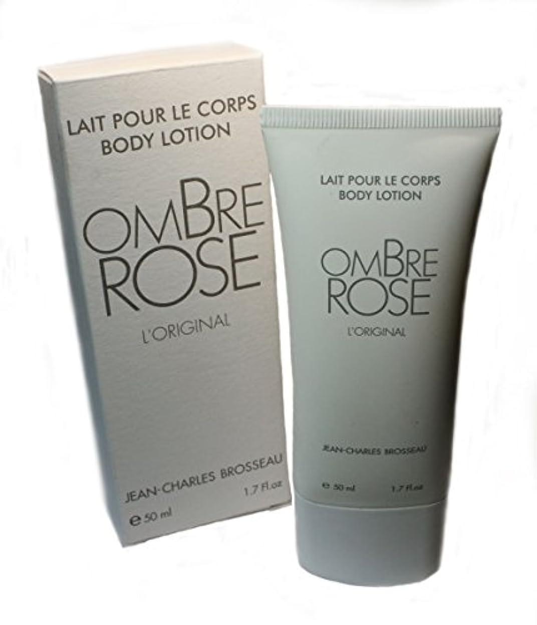 囲む意図頬骨Jean-Charles Brosseau Ombre Rose L'Original Body Lotion(ジャン シャルル ブロッソー オンブル ローズ オリジナル ボディーローション)50ml