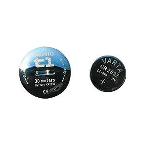 スント(SUUNTO) 電池 バッテリーキット CR2032 T1対応 [日本正規品 メーカー保証] SS014383000
