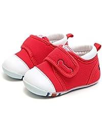春と秋のノンスキッド柔らかい通気性の機能は、男の子と女の子の子供の靴の余暇の柔らかい底の幼児の幼児の靴の底の韓国語版