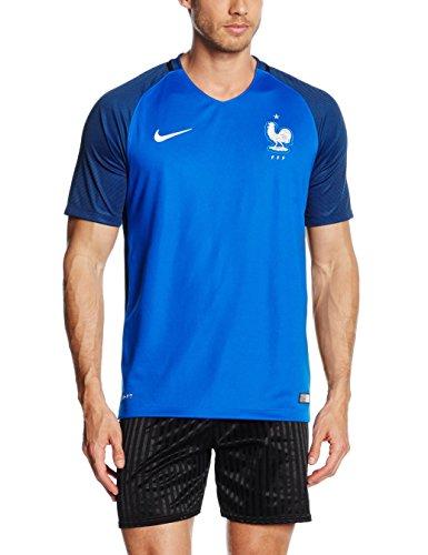 ナイキ(NIKE) フランス代表 DRI-FIT S/S ホーム スタジアム ジャージ 724615 439 ハイパーコバルト/ホワイト S