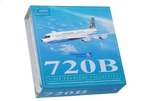1:400 ドラゴンモデルズ 55748 ボーイング 707 ダイキャスト モデル コンチネンタル 航空 N57203 w/コレクター Tin【並行輸入品】