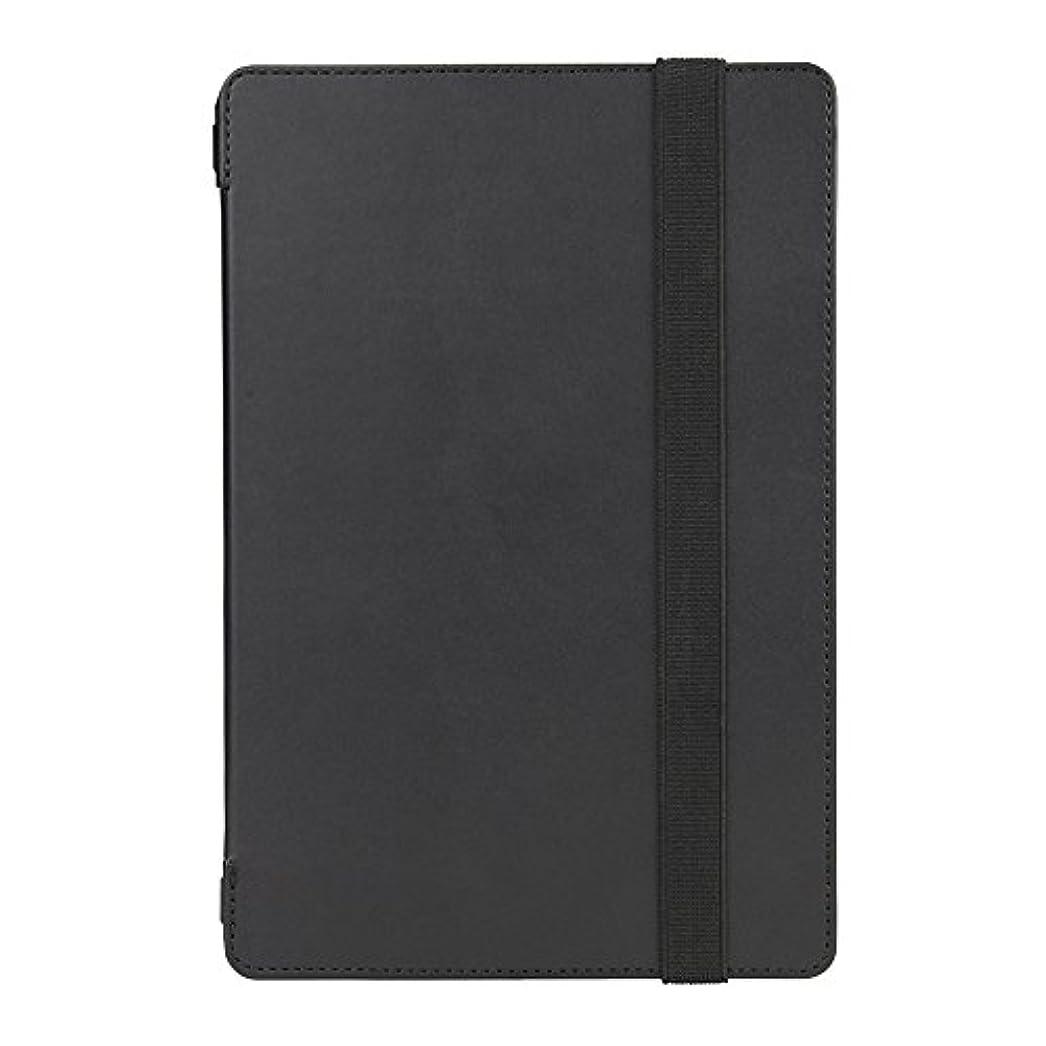 クランシーモデレータ鬼ごっこiBUFFALO iPad mini 4専用 レザーケース フリーアングル ブラック BSIPD715LBK