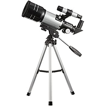 MIZAR 天体望遠鏡 屈折式 70mm 口径 コンパクトタイプ 経緯台 三脚 セット TS-70