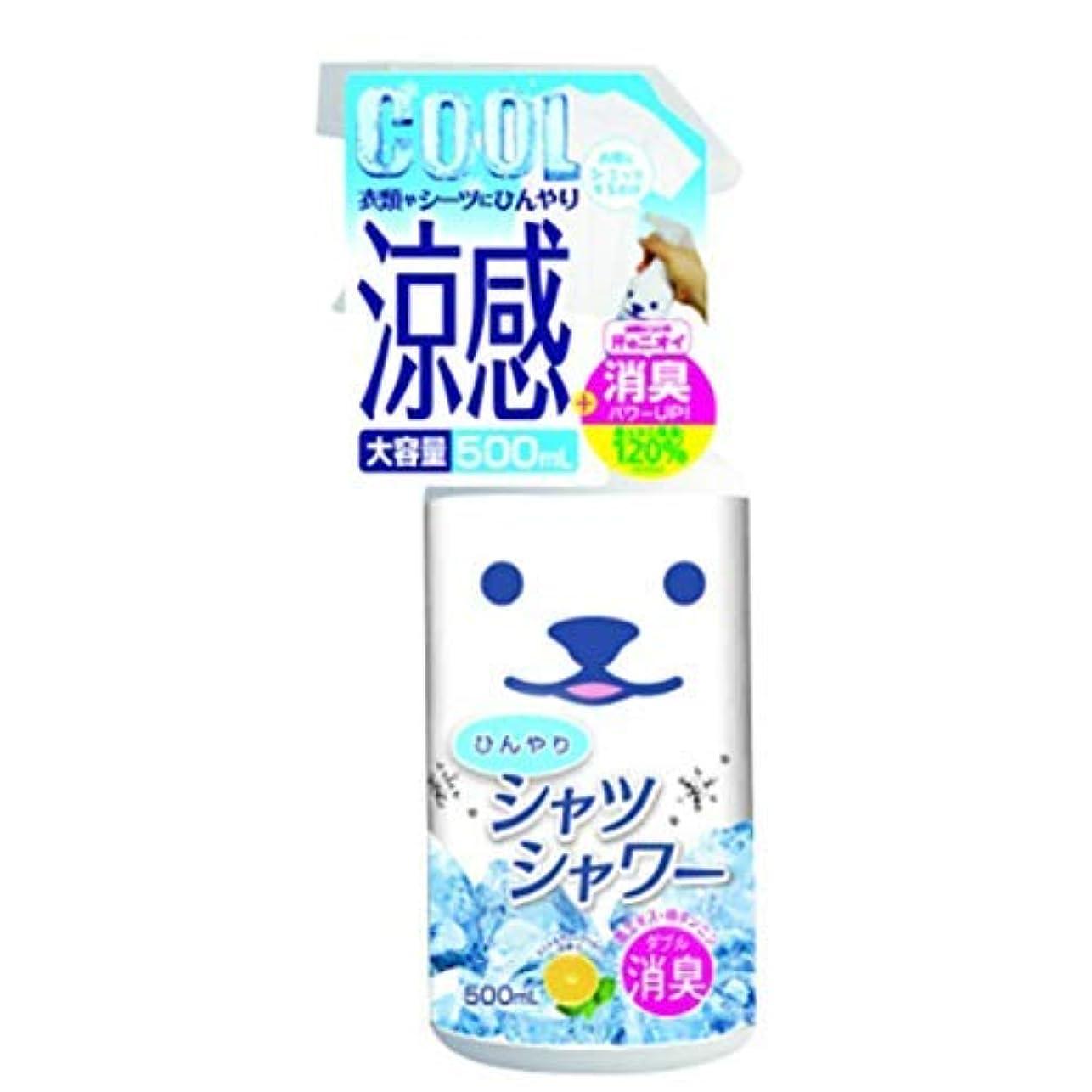 好意民間翻訳ひんやりシャツシャワーR 500ML × 8個セット