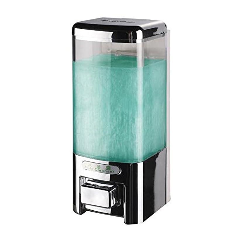 組み込むマイクロフォンあいにくSvavo v-8101プラスチック壁マウントHand Soap Dispenser forホテルキッチンバスルームホワイト、クロム500 ml 1のパック V-8101-Chrome
