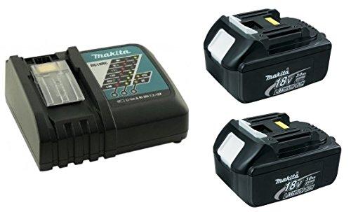 makita マキタ 急速充電器(DC18RC) と18V バッテリー(BL1830)2個のセット(USAマキタモデル)【並行輸入品】