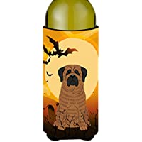 Carolines Treasures BB4281LITERK Halloween Mastiff Brindle Wine Bottle Beverge Insulator Hugger