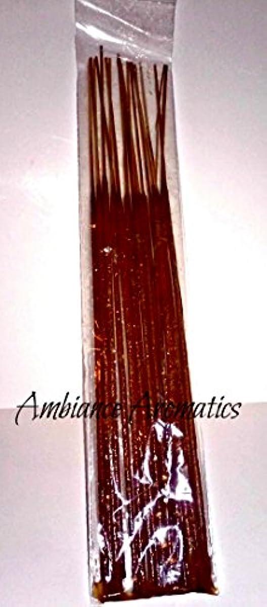 落ち着かない忠実にきしむFrankincense & Myrrh Freshly Made Incense Sticks 50 Sticks by Ambiance Aromatics