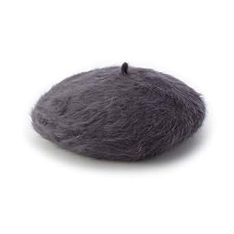 (シューラルー) SHOO・LA・RUE シャギーベレー帽 F9729008 00 ダークグレー(013)