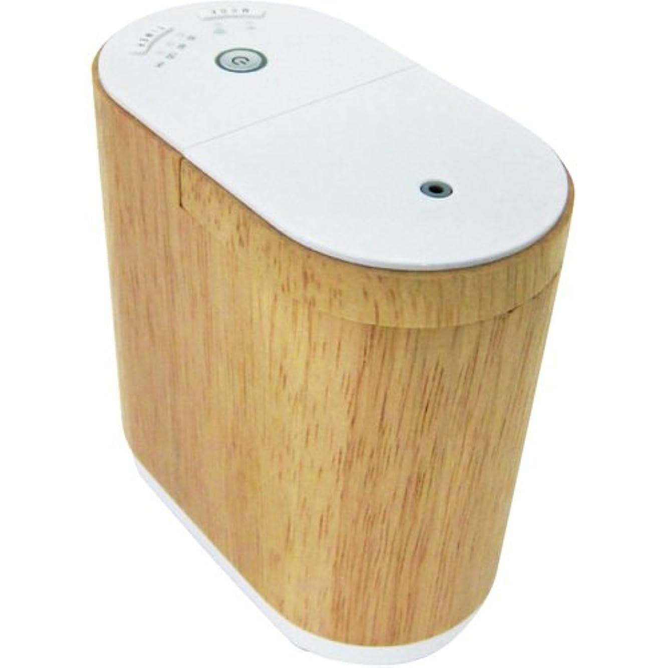 熟練したミリメートル耳生活の木 アロマディフューザー(ウッド)エッセンシャルオイルディフューザー aromore(アロモア) 08-801-6010