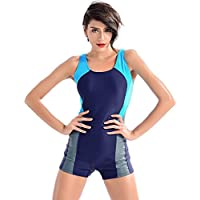 BestoU One Piece Swimsuit, Athletic Swimsuit for Women, Sports Swimwear for Ladies, Racerback