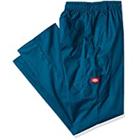 Dickies Men's Big-Tall EDS Signature Zip Fly Pull-On Scrub Pant