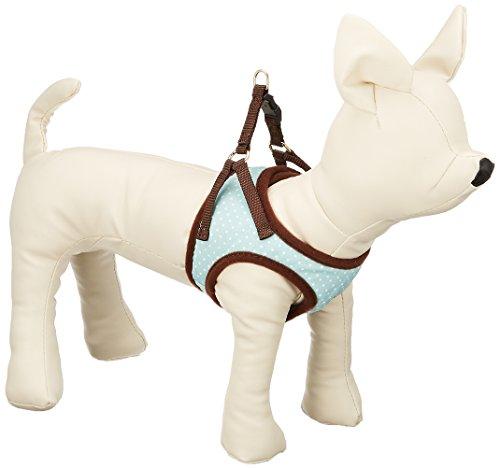 ターキー WG水玉ソフト胴輪 2S 超小型犬用  ミント  犬用ハーネス