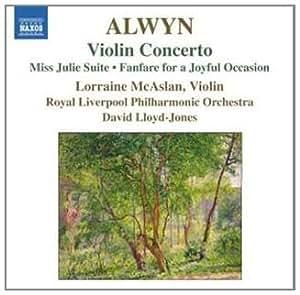 Violin Concerto/Miss Julie Suite