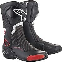 alpinestars(アルパインスターズ)バイクブーツ ブラック/レッド 45/29.5cm SMX6(エスエムエックス6)ブーツ3017 1691460645